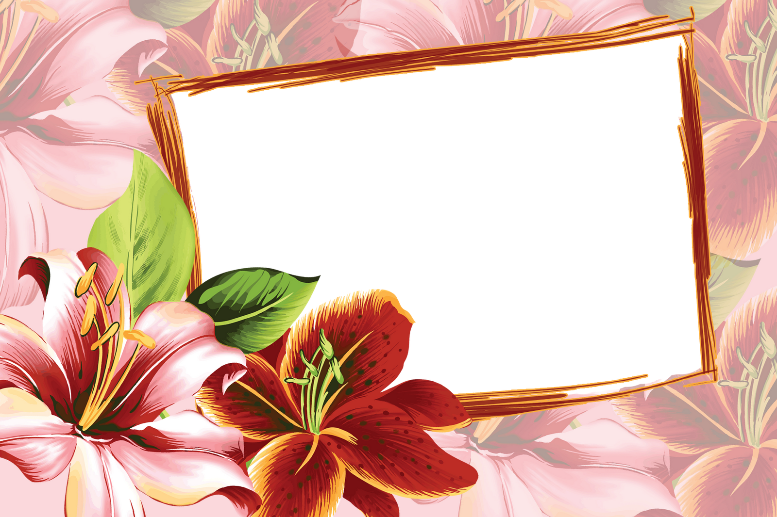 Frame flowers my blog for Design a frame