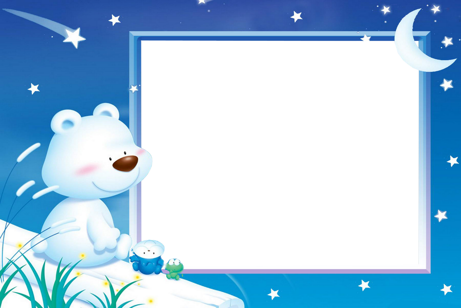 beautiful teddy disney photo frames for kids - Disney Picture Frames